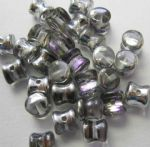 Czech Crystal Vitrail Light Pellet Beads 4x6mm (30)